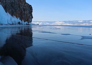 Baikal ice trip to meet the Sun